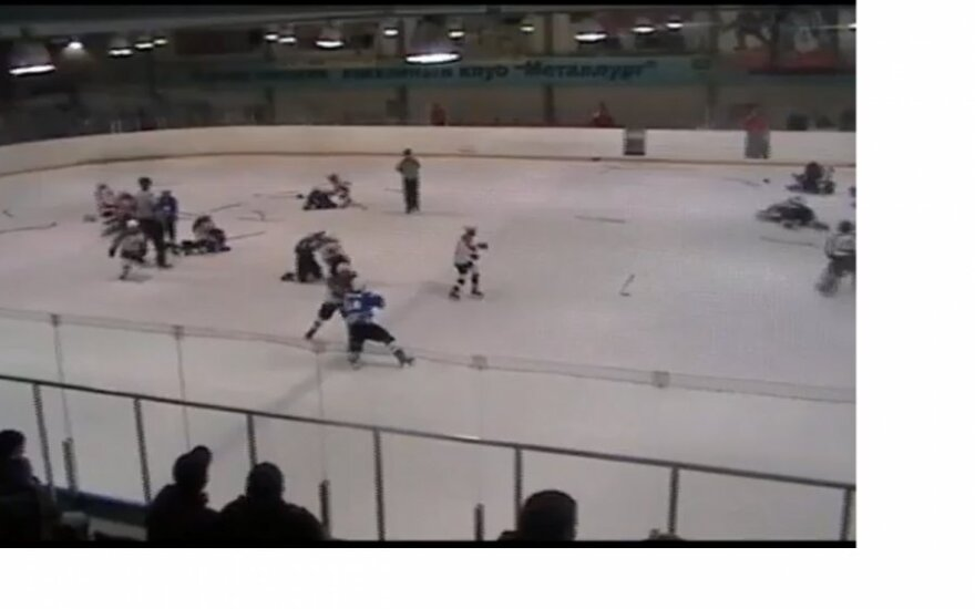 Bójka, hokej