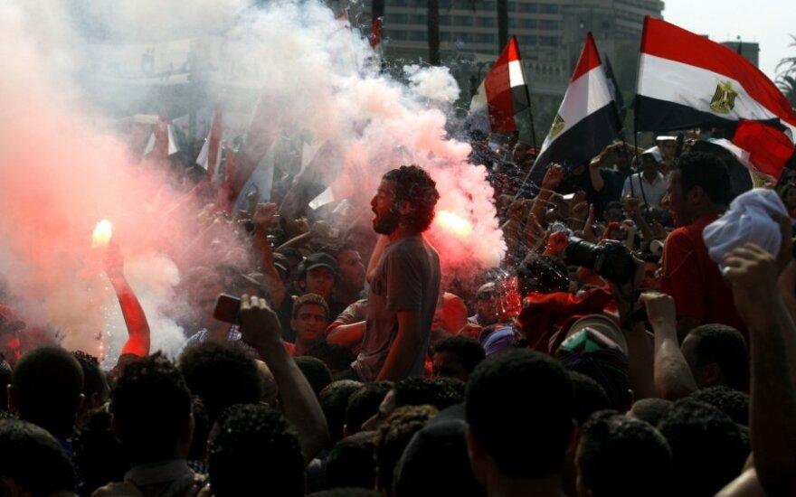 Egipto sostinėje vyksta masinė protesto akcija