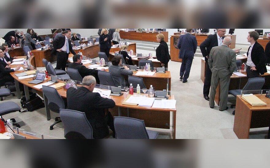 """""""Трудовики"""" приостановили участие в коалиции Вильнюсского горсовета"""
