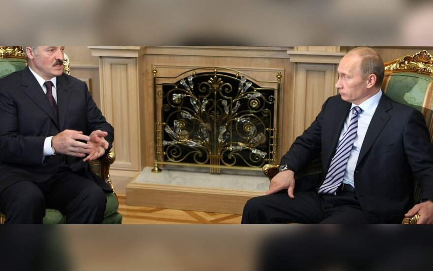 V.Putinas ir A.Lukašenka