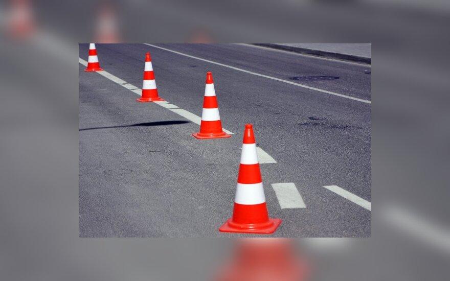 На дороге через Григишкес ограничат движение