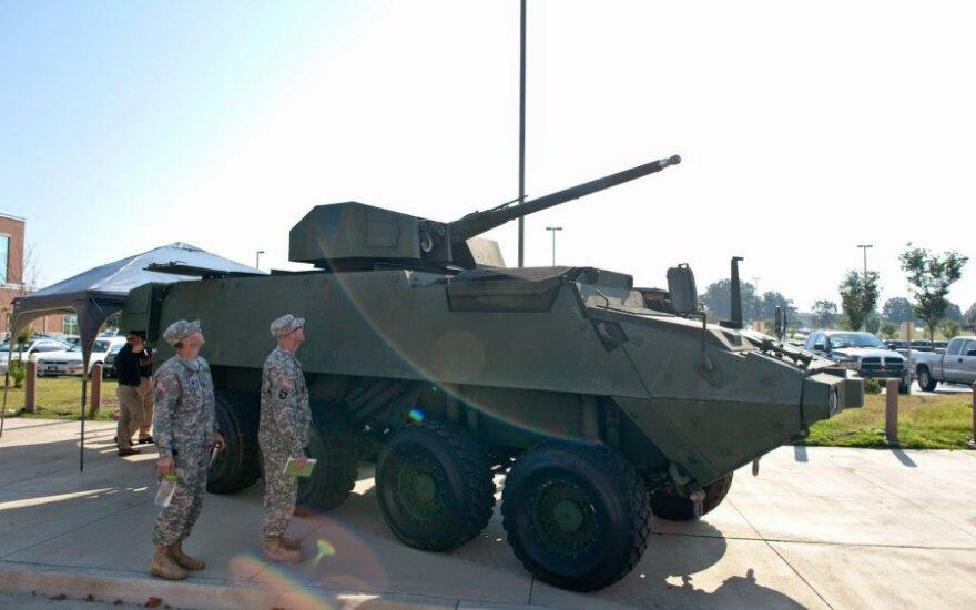 По Литве едет тысяча военных НАТО
