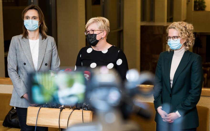 Viktorija Čmilytė-Nielsen, Ingrida Šimonytė, Aušrinė Armonaitė