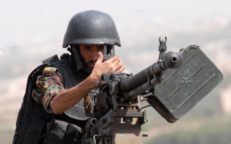 Jemeno specialiųjų antiteroristinių pajėgų narys