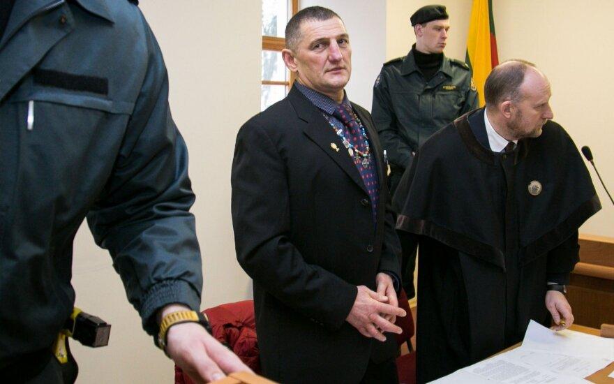 Henrikas Daktaras ir advokatas Gintas Gustaitis