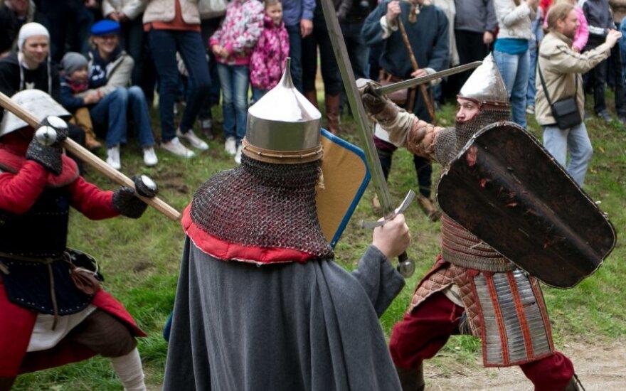В Медининкском замке прошел фестиваль исторической реконструкции