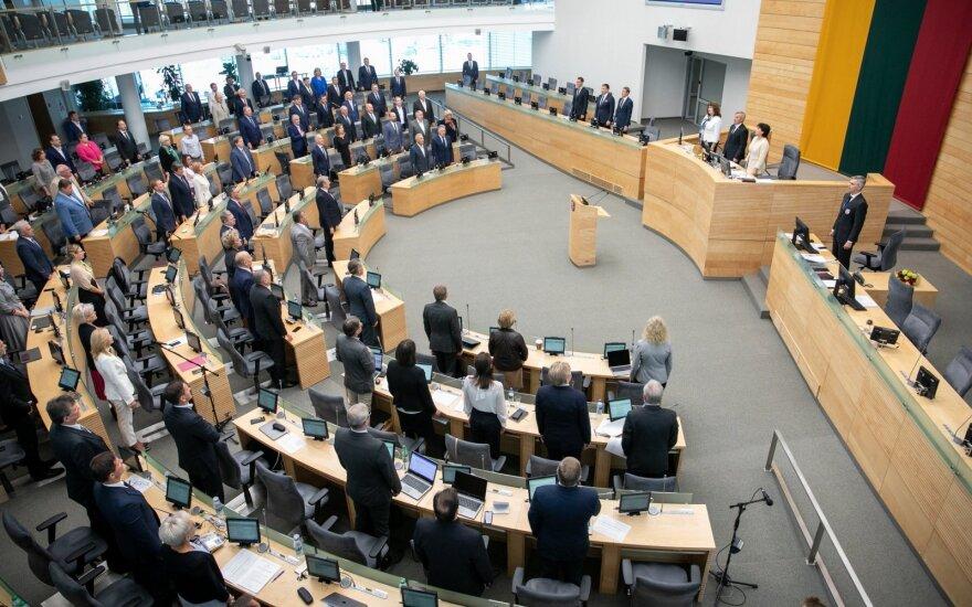 За полугодие численность партий Литвы сократилась на 3,7 тыс. человек