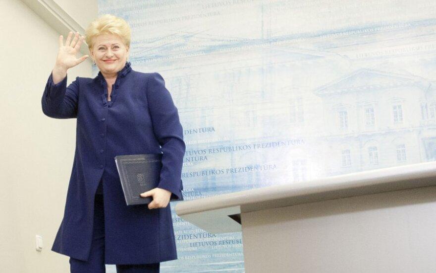 Грибаускайте: правоохранительные органы, наконец-то, осмелились тронуть высокопоставленных чиновников