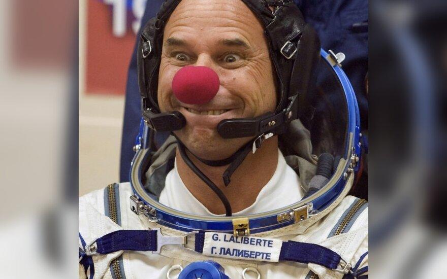 Космический турист Лалиберте отправился в космос