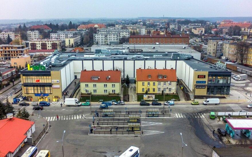 Centrum handlowe w Kwidzynie