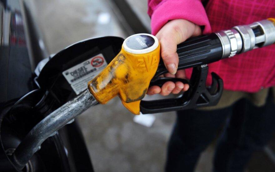 Водители не спешат запасаться дешевым дизельным топливом