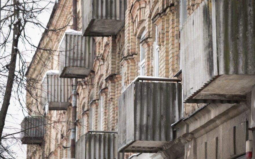 Balkonas Naugarduko gatvėje