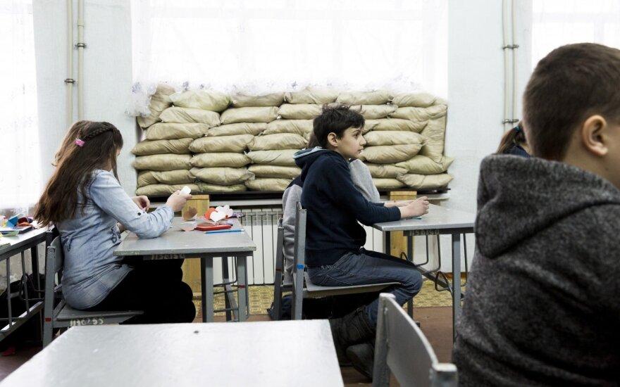 Правительство выделило 48 000 евро на обустройство украинских школьников в Литве