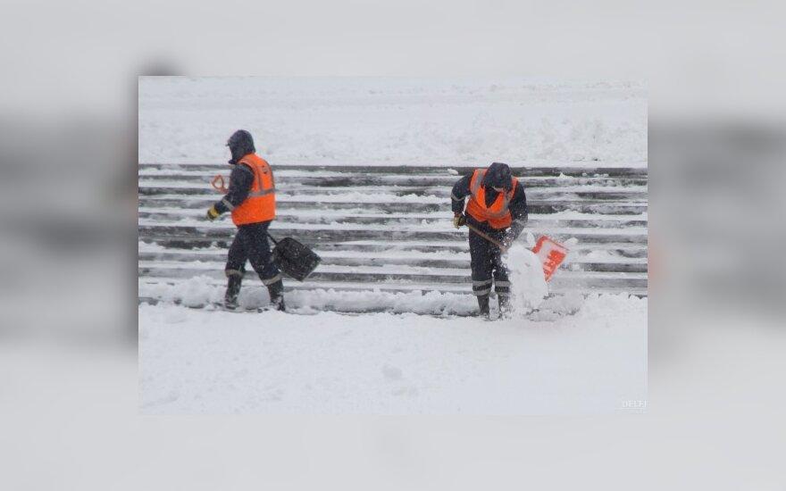 На Эстонию обрушилась метель, есть жертвы