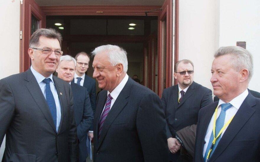 Premier Algirdas Butkevičius podziękował ambasadorowi Białorusi