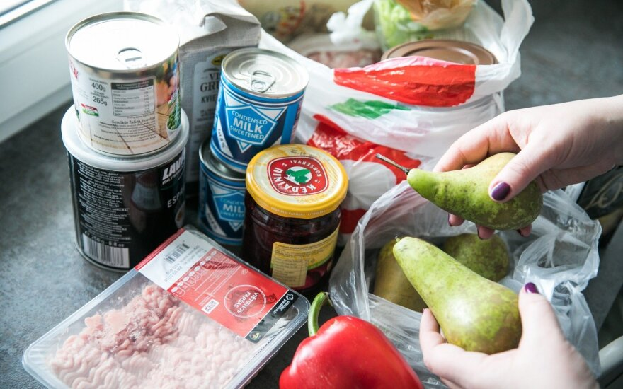 Правительство Литвы не одобряет льготный НДС на продукты питания