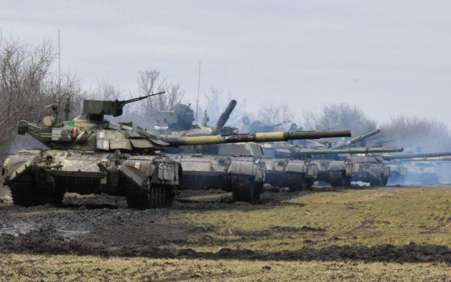 Ukrainos pajėgų pratybos