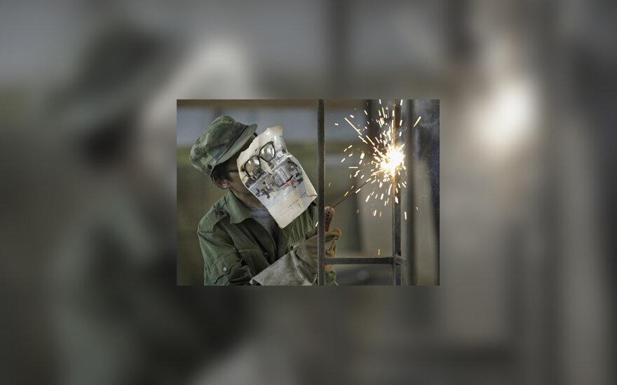 Suvirintojas, darbo sauga, darbininkas