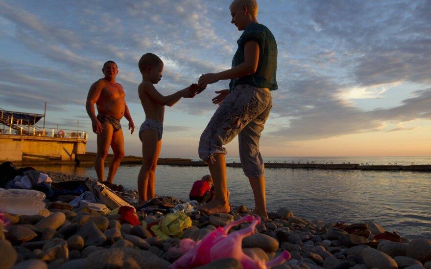 Rusų turistai