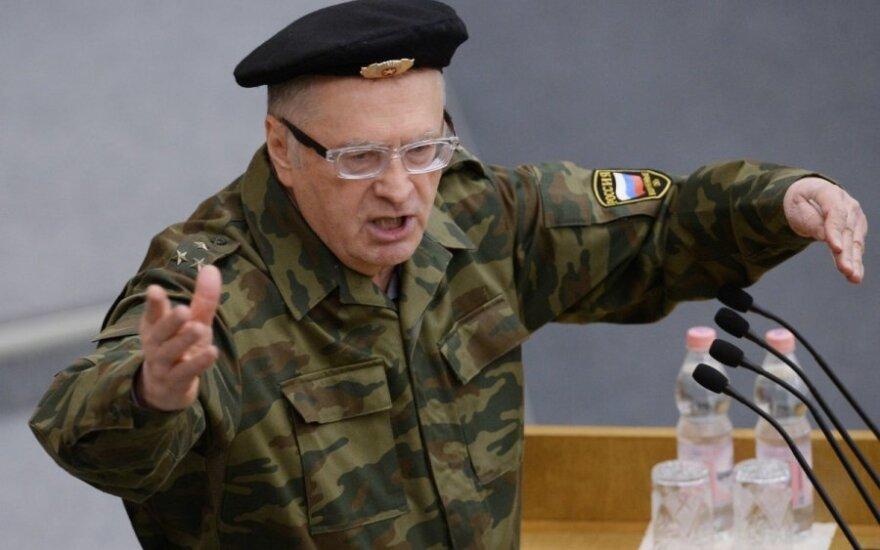 Władimir Żyrinowski: Polska i kraje bałtyckie są skazane na zagładę