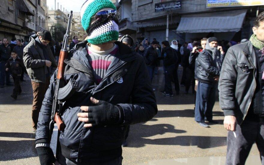 Sirijoje vyksta susirėmimai