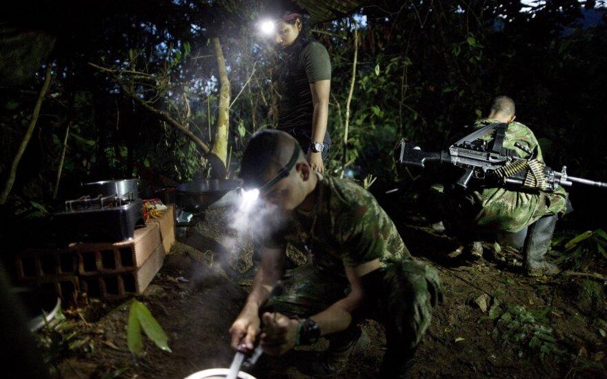 Повстанцы в Колумбии сдали большую часть оружия