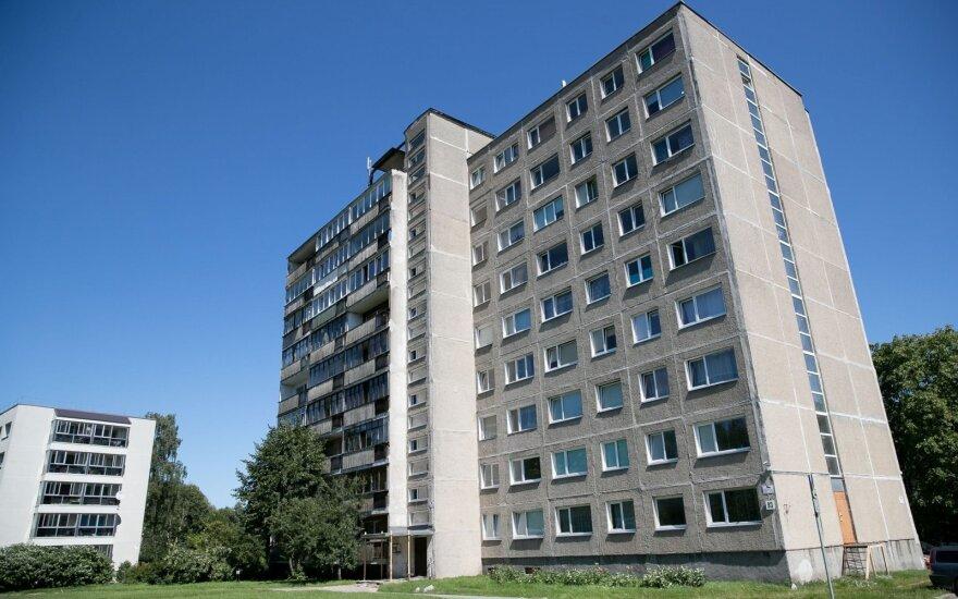 Покупающее сотню социальных квартир самоуправление Вильнюса не получает предложений