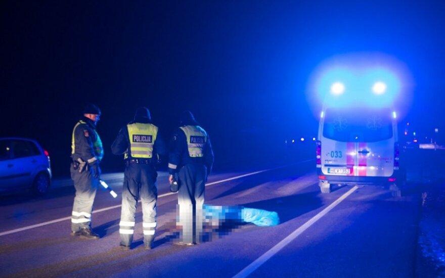 В Вильнюсе на дороге погиб пешеход