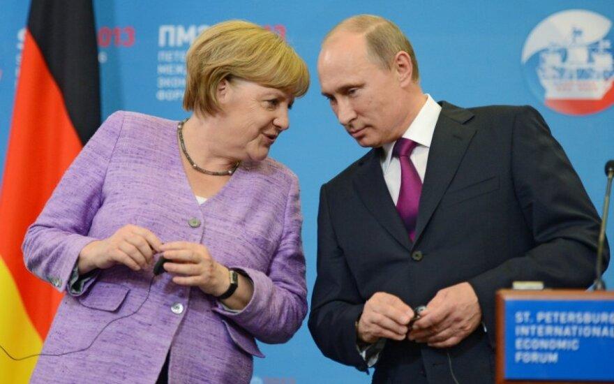 Putin omówił z Merkel i Hollande'em zawieszenie broni na Ukrainie