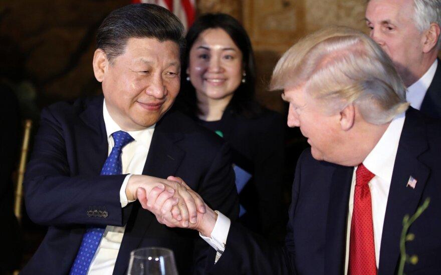 Donaldo Trumpo ir Xi Jinping susitikimas