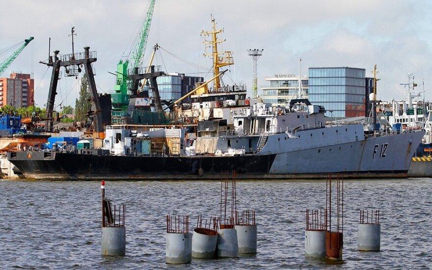 """Karinių jūrų pajėgų (KJP) laivas F12 """"Aukštaitis"""""""