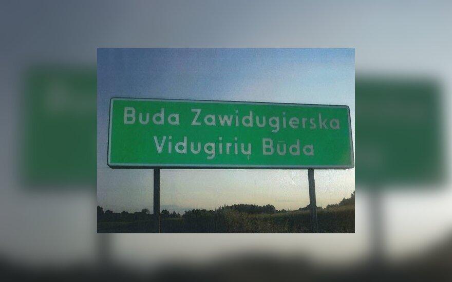 Vietovardžiai Lenkijoje, dvikalbiai  topografiniai pavadinimai, Lenkijos ambasadros nuotr.