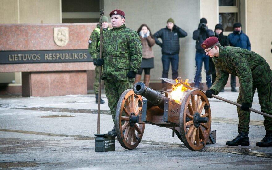 Правительство Литвы: добровольцам ополчения придется выбирать между службой и политикой