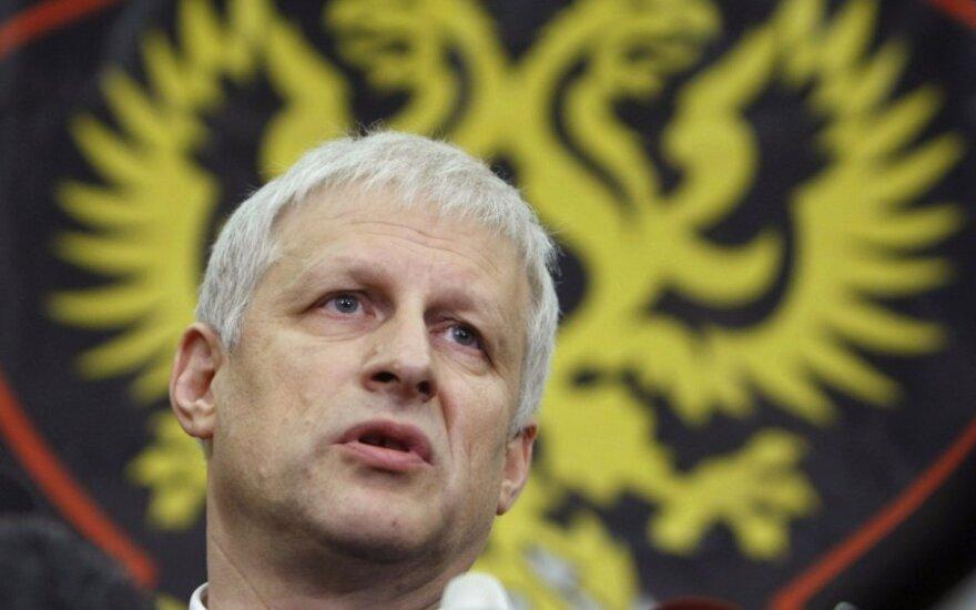Sergejus Fursenka - Rusijos futbolo sąjungos prezidentas