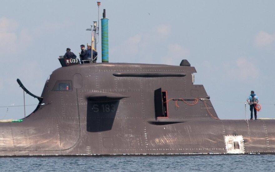 В Таллинн прибыла немецкая подводная лодка и два корабля