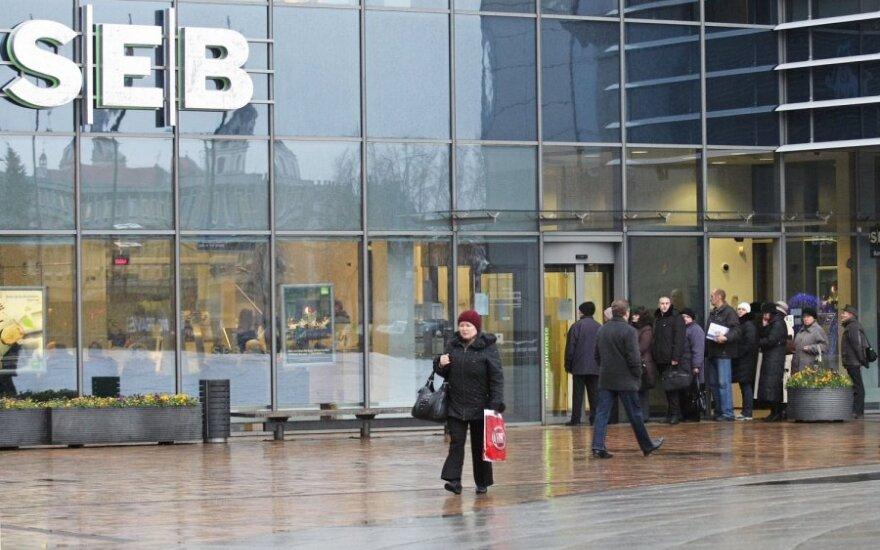 SEB облагает налогом часть счетов