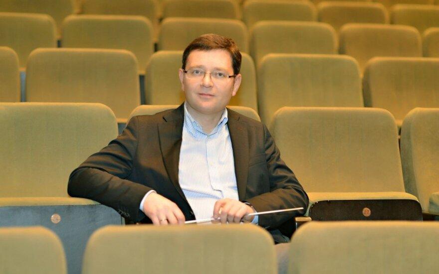 Maciej Figas, dyrektor Opery Nova w Bydgoszczy. fot.Marek Chelminiak