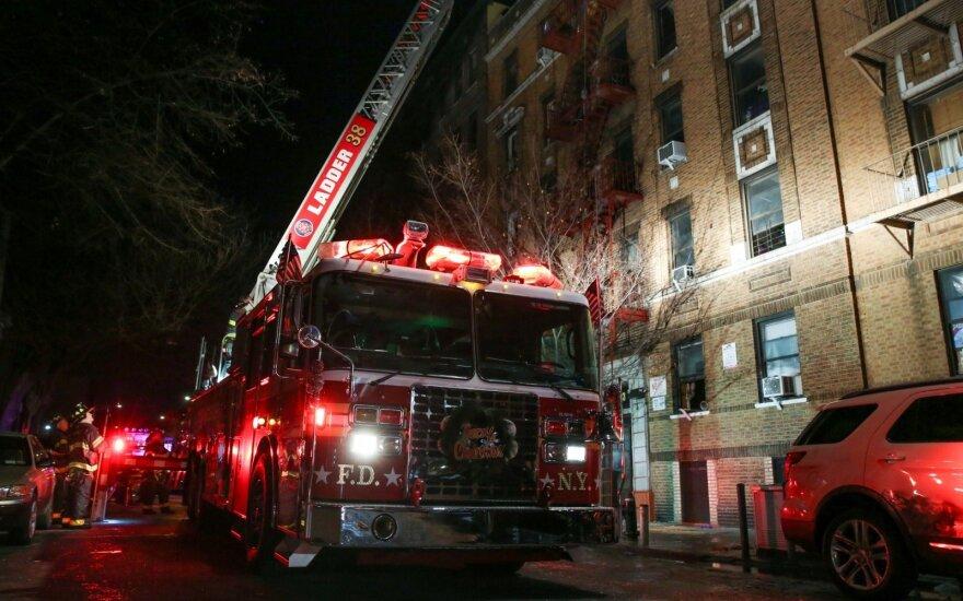 В Нью-Йорке произошел самый смертоносный за 25 лет пожар
