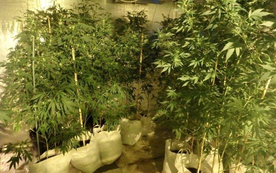Policija rado narkotikų laboratoriją