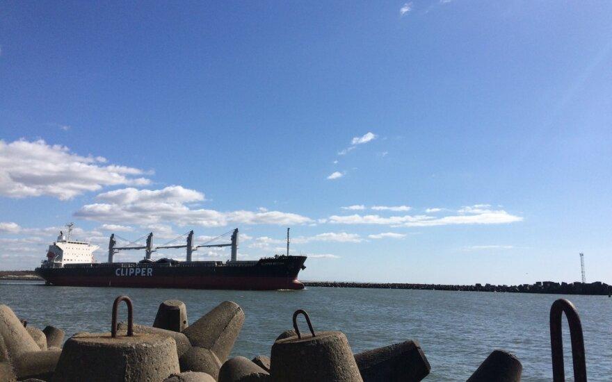 Клайпедский порт лидирует в Балтии по грузообороту