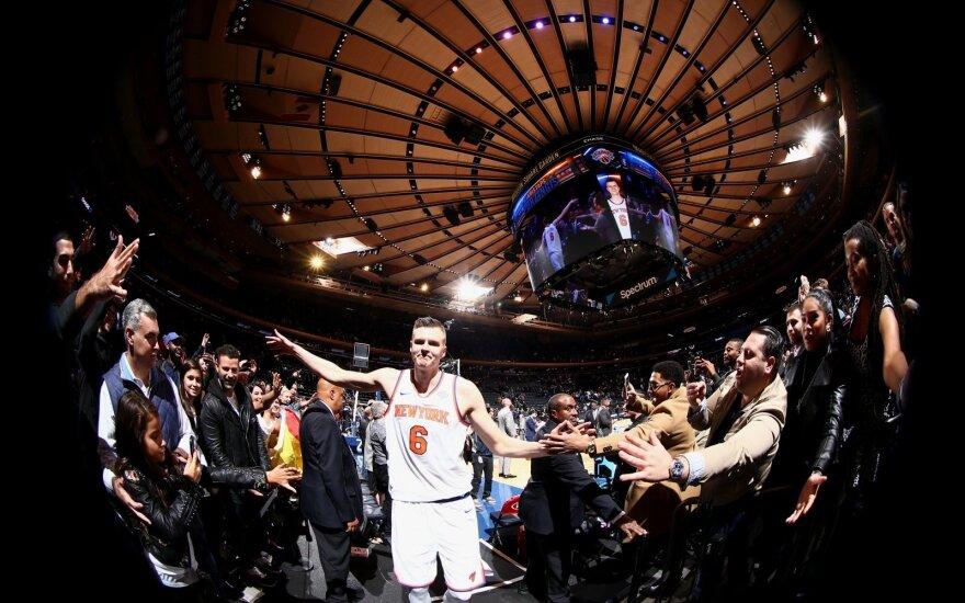 """Puikios K. Porzingio rungtynės: """"Knicks"""" - """"Nuggets"""""""