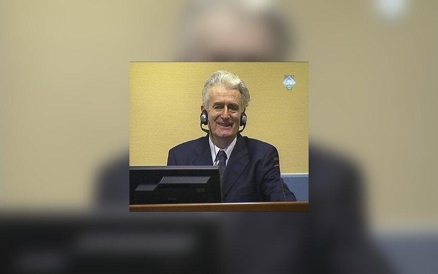 Суд над Караджичем в Гааге начался без него