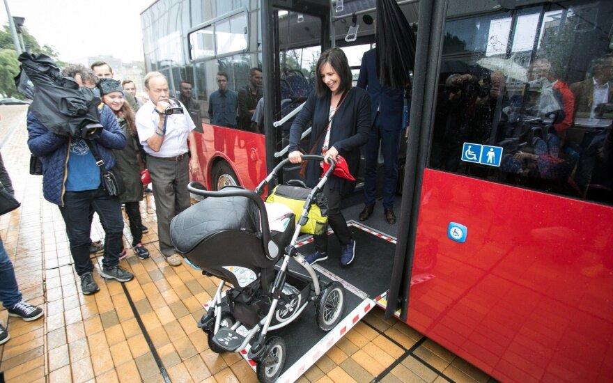 На улицах Вильнюса появятся 250 новых автобусов