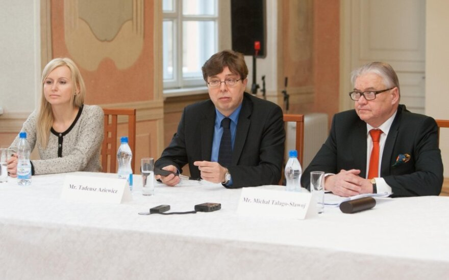 Marta Žurawek, Tadeusz Aziewicz, Michal Talago-Slawoj