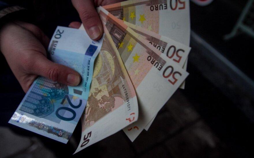Фальшивые евро: подделку нашли даже в банкомате