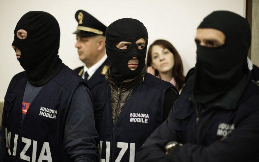 """В Италии арестован предполагаемый главарь мафии """"Коза ностра"""""""