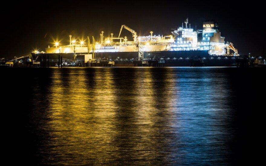 В Литву доставили газ Statoil
