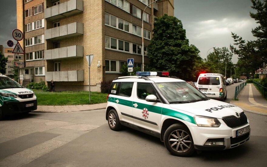 В Вильнюсе убита женщина, подозреваемый задержан
