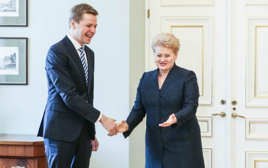 Remigijus Šimašius, Dalia Grybauskaitė