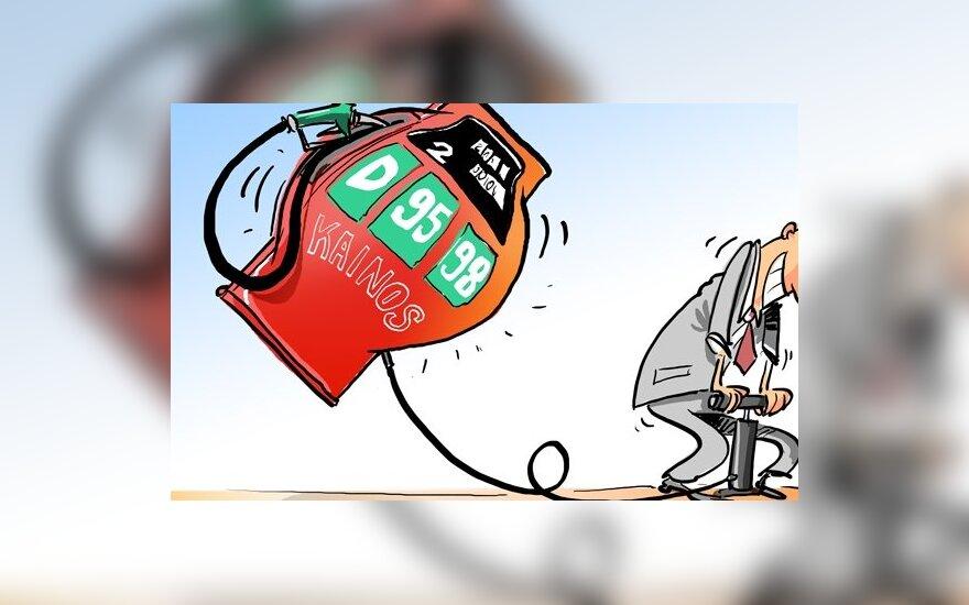 Экономист: реально, что бензин будет стоить 6-7 литов